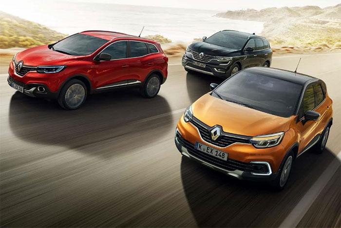 Renault SUV Modelle von P&A-Preckel