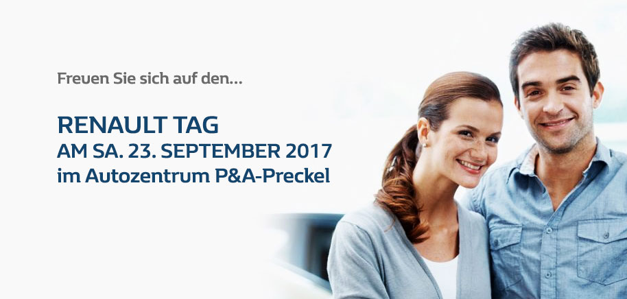 Renault Tag September 2017 P&A-Preckel