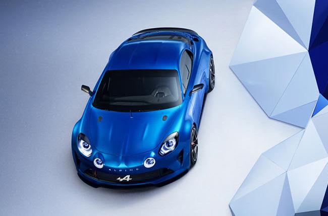 Renault Alpine blau