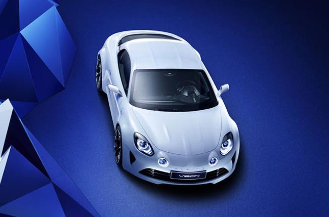 Renault Alpine weiss