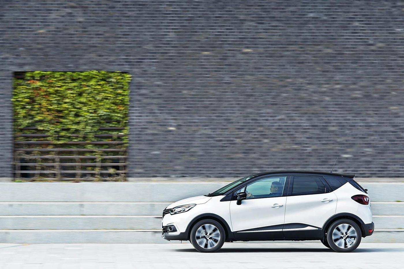 Zweifarb-Lackierung des Renault Capturs