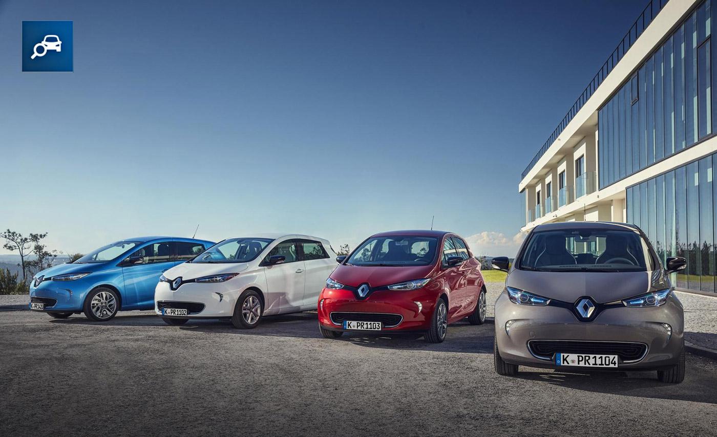 Renault Zoe Elektroauto-Bilder