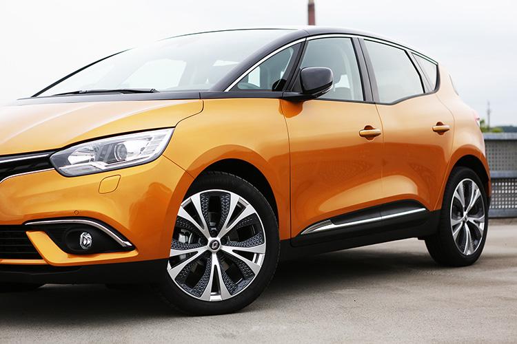 Leichtmetallräder Renault Scénic