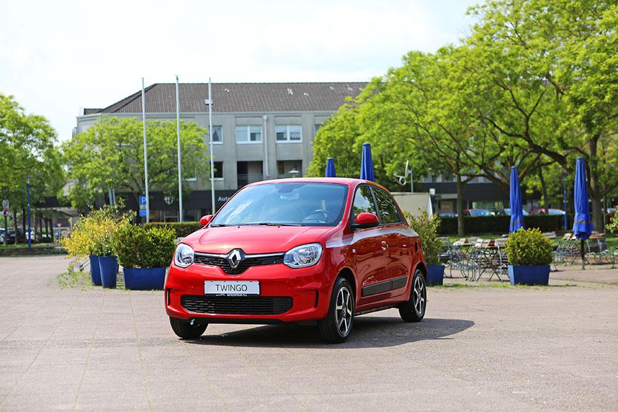 Der neue Renault Twingo in Rot vom Autozentrum P&A-Preckel