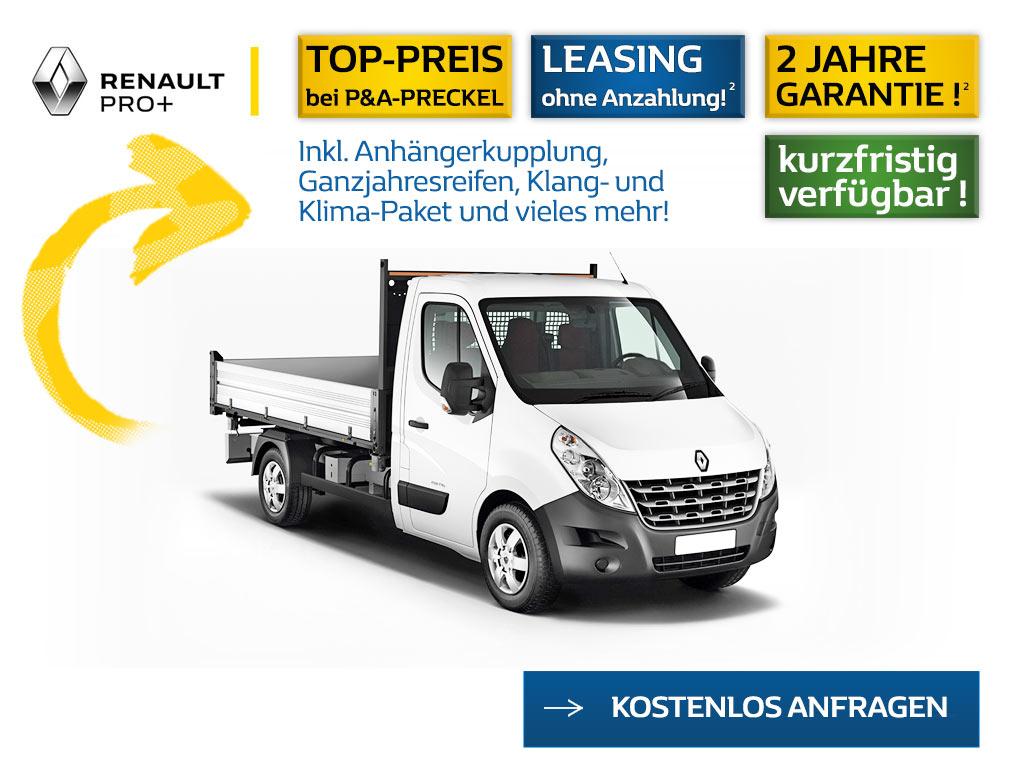 Angebot Renault Master Pritsche L2H1