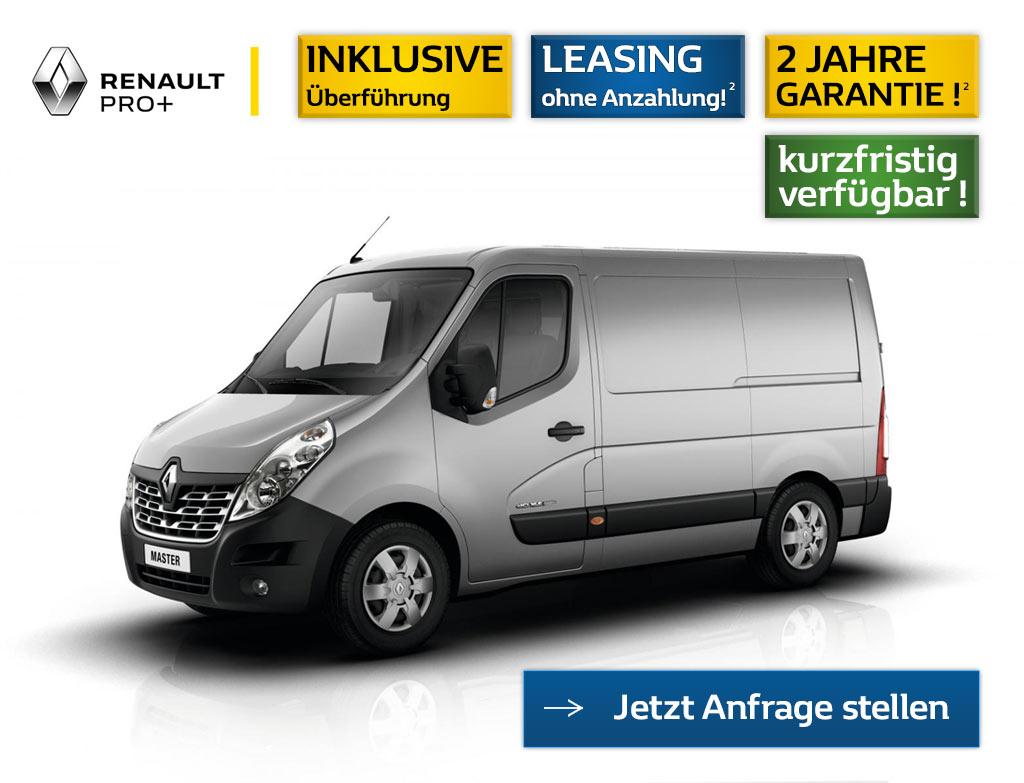 Leasing Angebot Renault Master L1H1