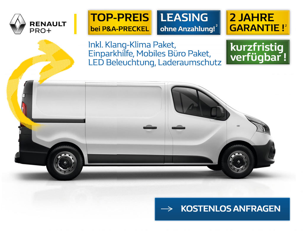 Renault Trafic L2H1 Angebot