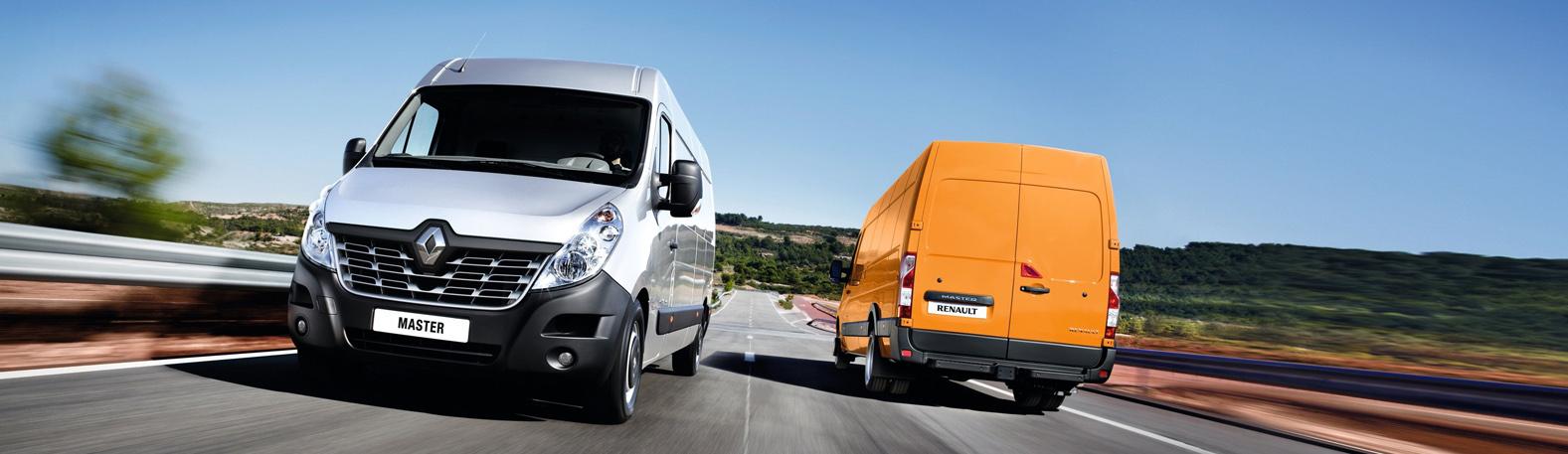 Renault Master Front- und Heckansicht