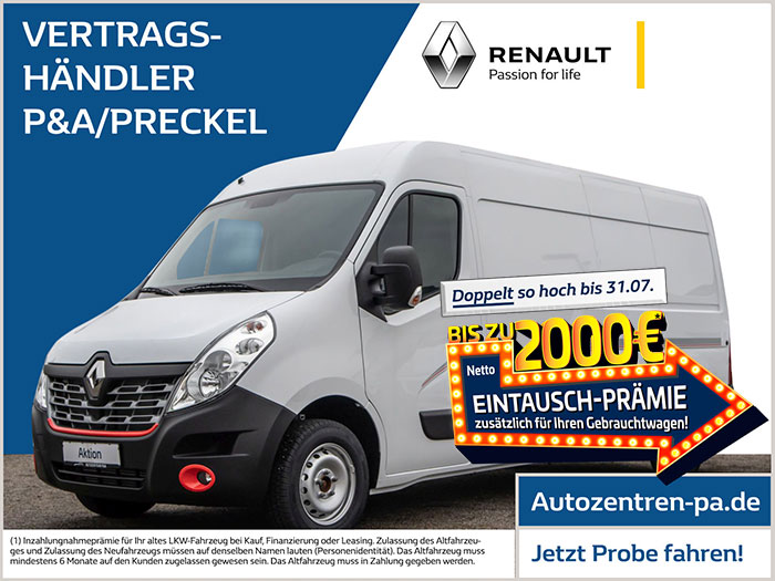 Renault Master Limited Edition