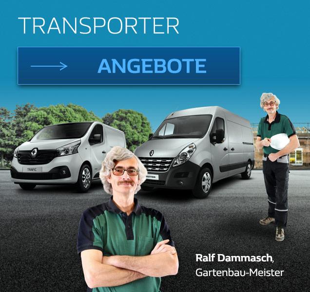 Renault Transporter für Gewerbekunden bei P&A