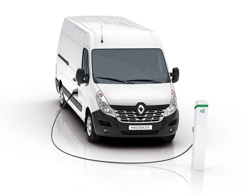 Renault Master Elektroauto
