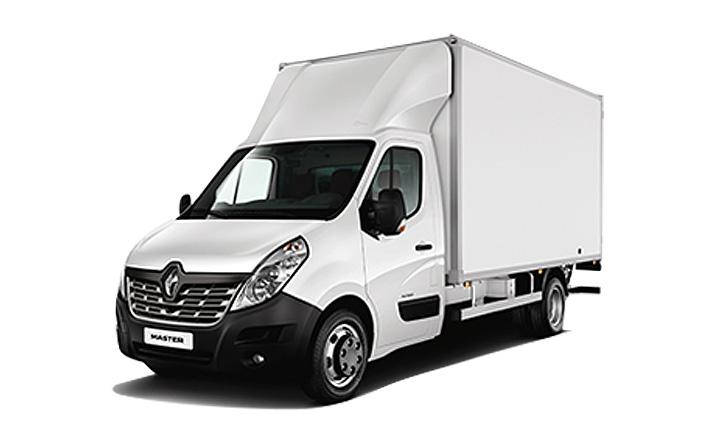 Renault Master Kofferbau von P&A