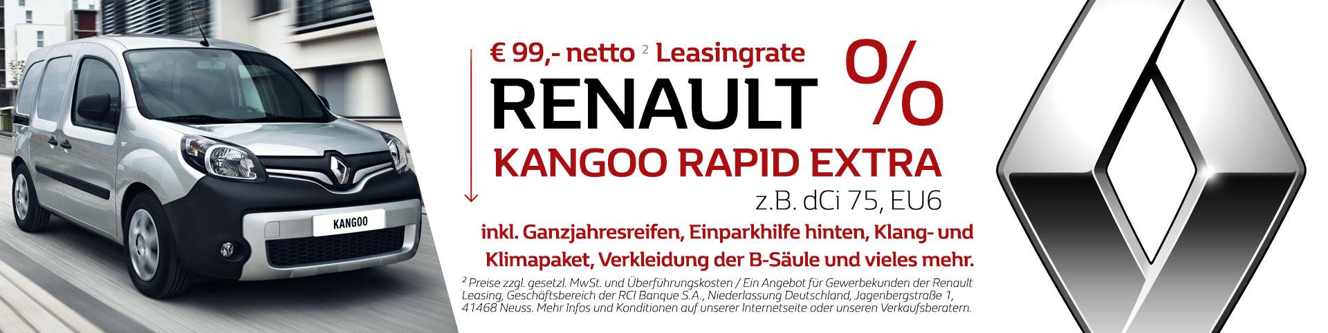Renault Kangoo Leasing Angebot