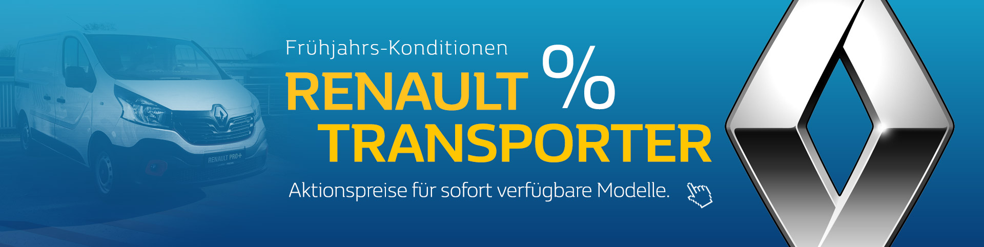 Renault Transporter Frühjahrskonditionen