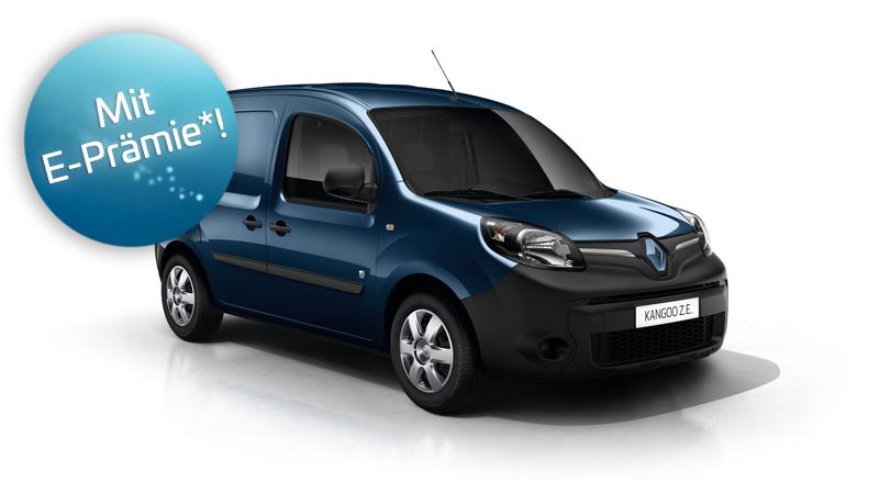 Renault Kangoo Z.E. Angebot und Preis