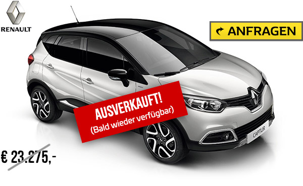 autozentrum p a preckel unser top angebot renault captur. Black Bedroom Furniture Sets. Home Design Ideas