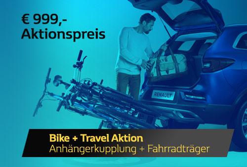 Angebot Anhängerkupplung und Fahrradträger