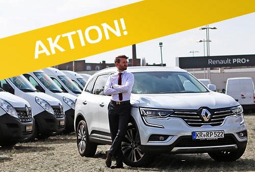 Renault Koleos Sonderangebot Vorführwagen