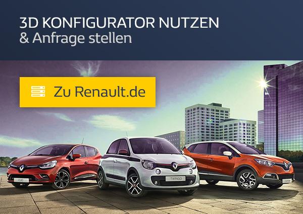 Renault konfigurieren im 3D Konfigurator