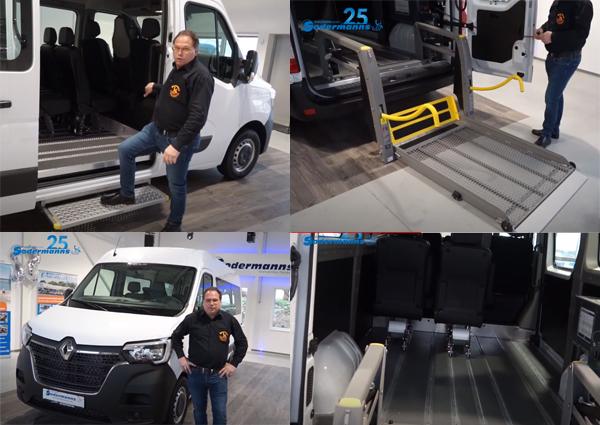 Renault Master Handicap Mobil