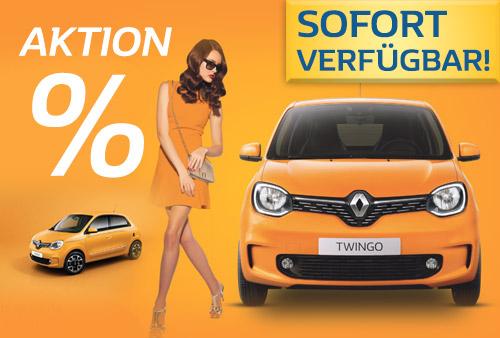 Renault Twingo Sonderangebot bei P&A