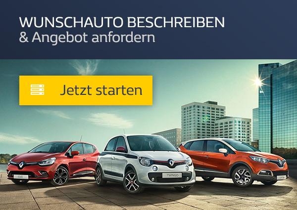 Ihren Renault konfigurieren
