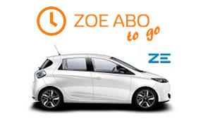 Renault Zoe Abo to go
