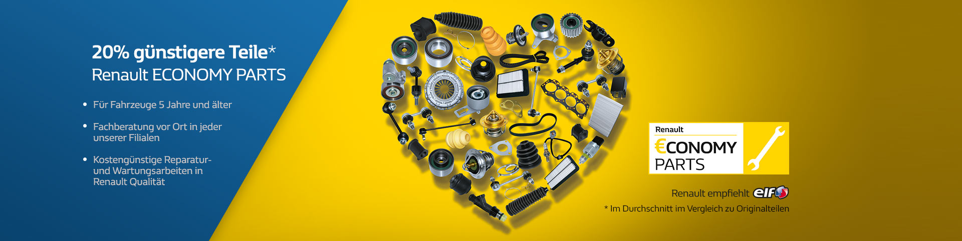 Renault Economy Parts von P&A-Preckel