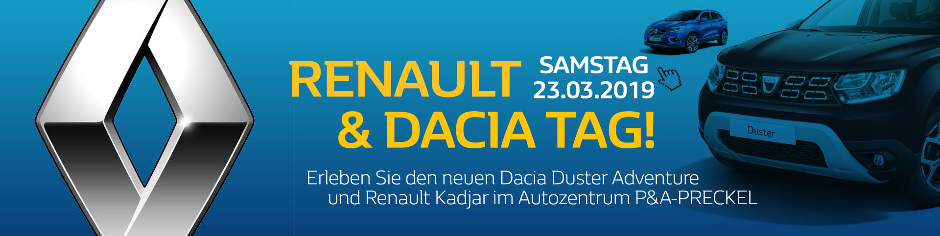 Renault Tag am 23.03.2019 im Autozentrum P&A-Preckel