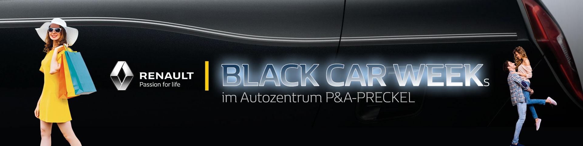 Black Car Weeks im Autozentrum P&A-Preckel