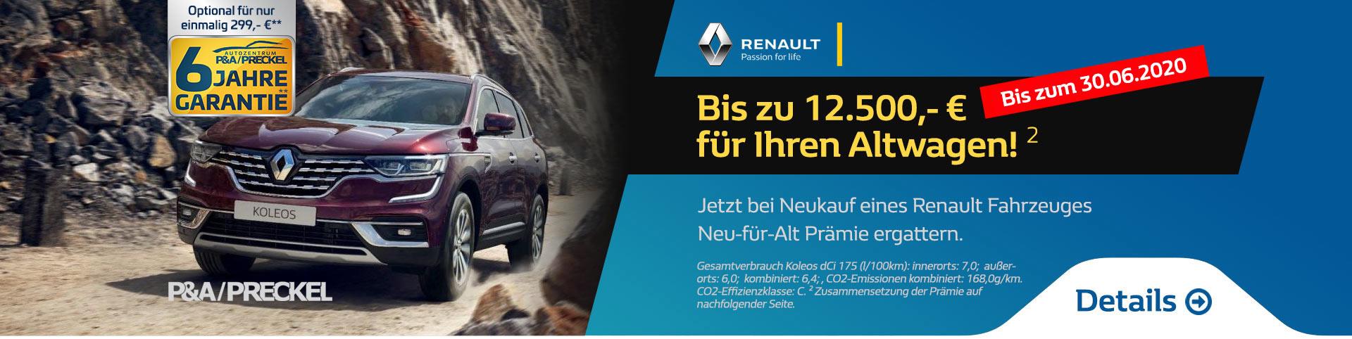 Renault Neu-für-Alt Prämie