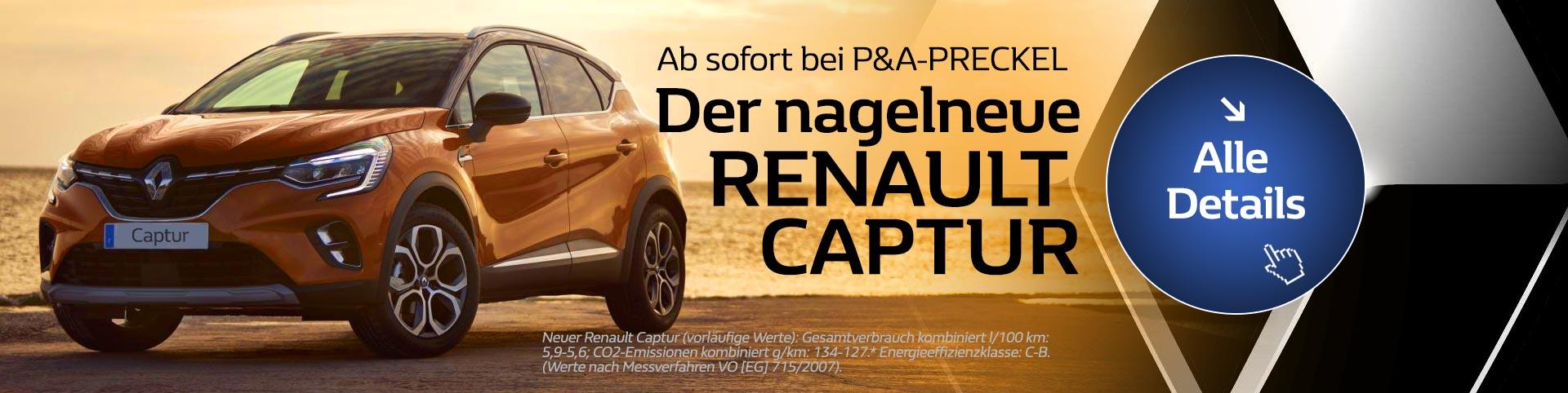 Renault Captur vom Autozentrum P&A-PRECKEL kaufen