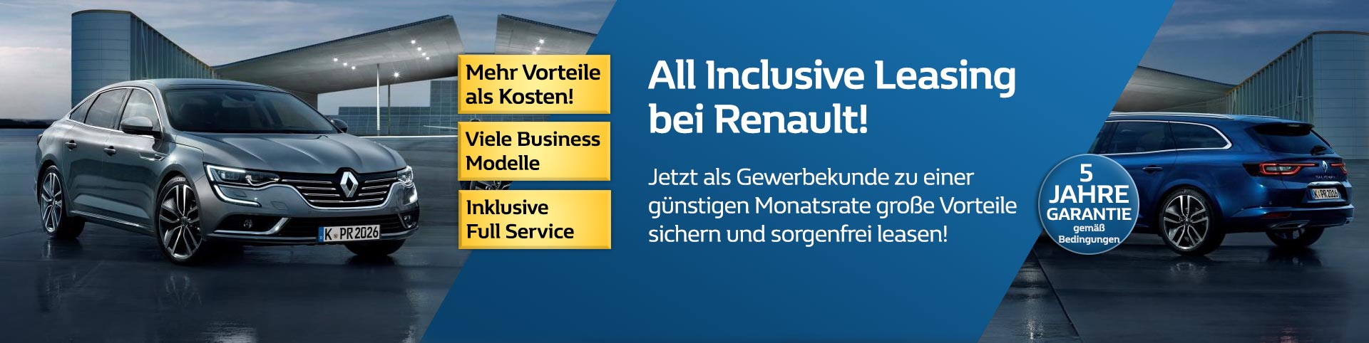 Renault Business Leasing