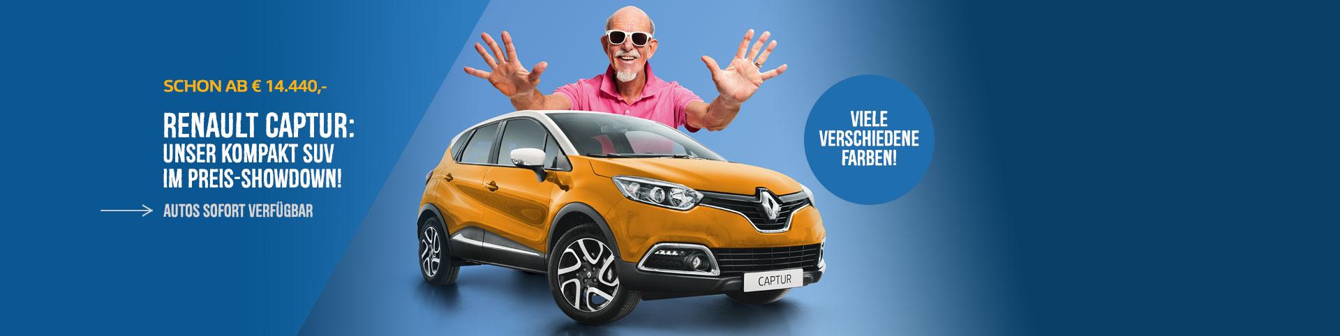 Renault Captur Angebot vom Autozentrum P&A-Preckel