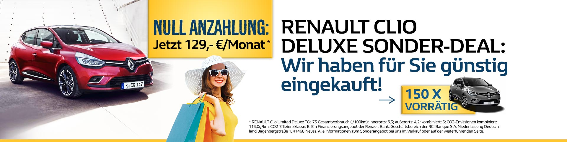 Renault Clio Deluxe Angebote
