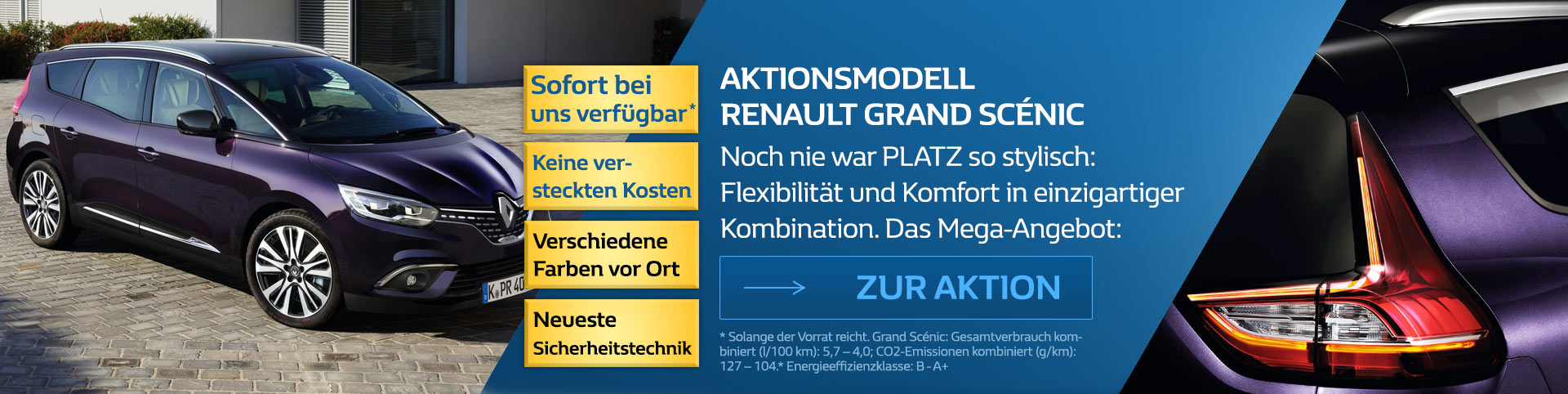 Renault Grand Scenic Angebot 2018