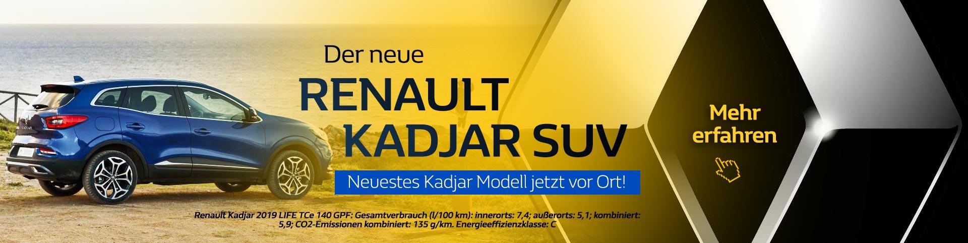 Renault Kadjar Premiere 2019