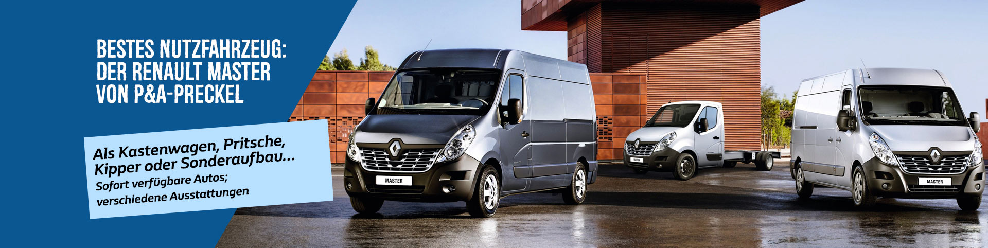 Renault Master Angebot bei P&A-Preckel