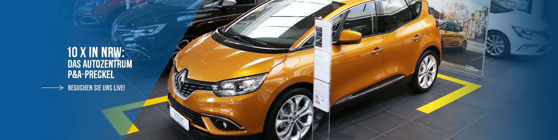 Renault in NRW: Autozentrum P&A-Preckel
