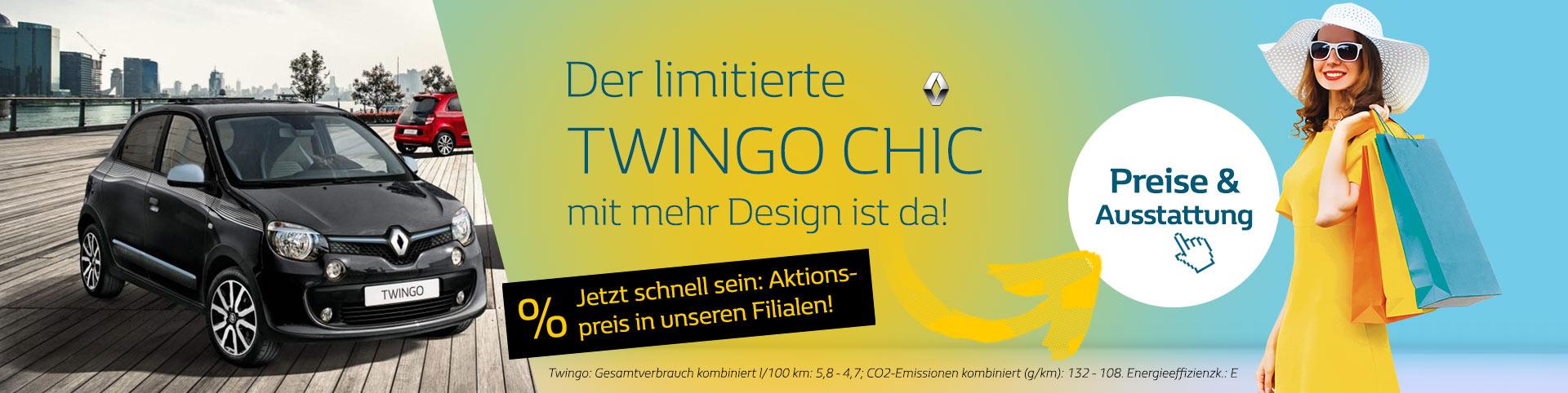 Renault Twingo Chic Angebot 2019