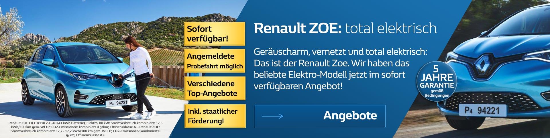 Renault Zoe 2019 vom Autozentrum P&A-PRECKEL