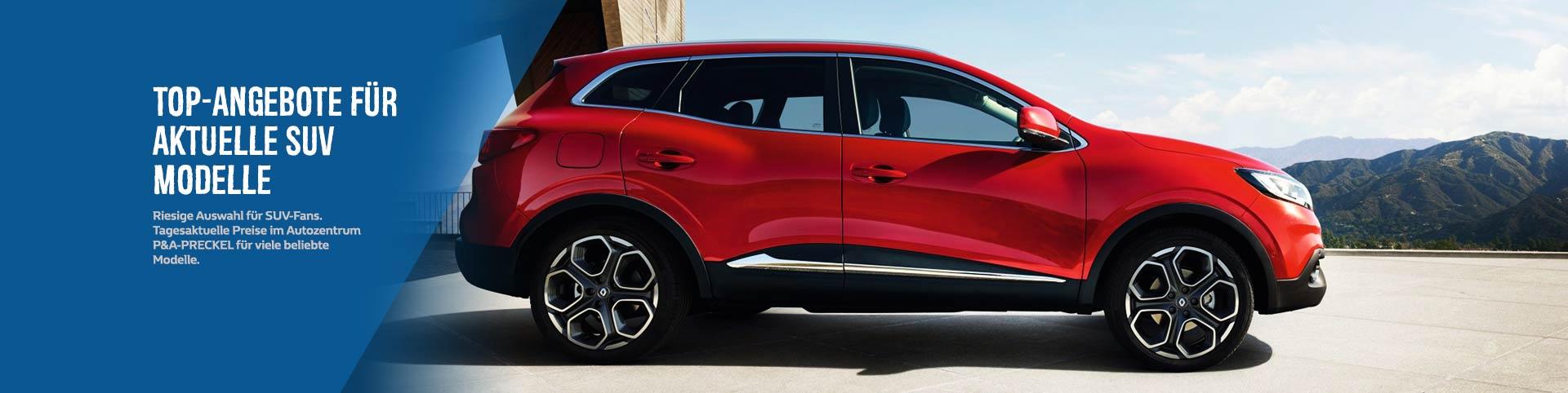 SUV Modelle: Angebote und Preise