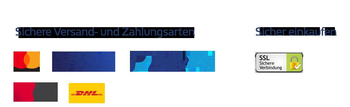Versand und Bezahlung