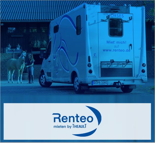 Pferdetransporter mieten bei Renteo