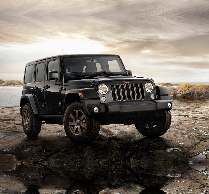 JEEP Wrangler Unlimited 80th Anniversary Editon