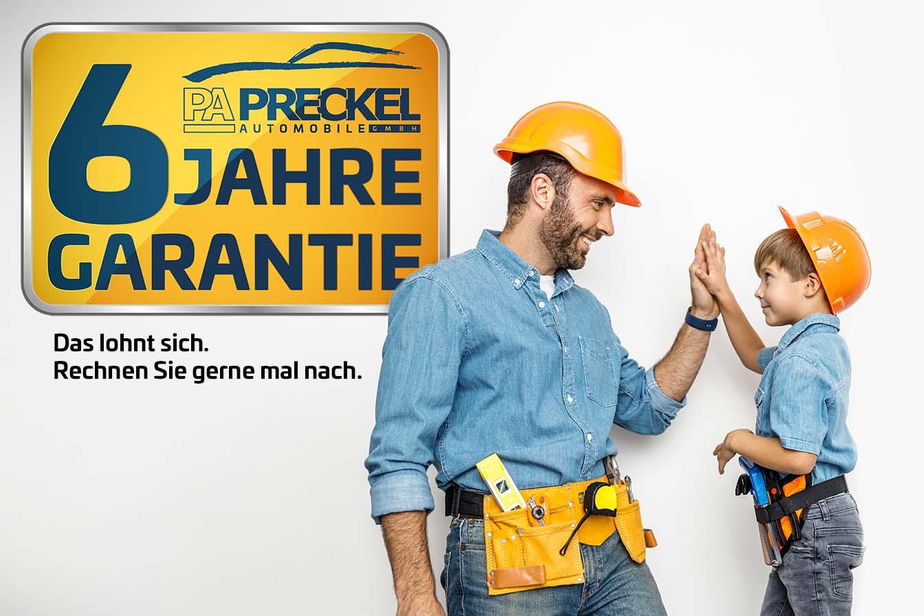 6 Jahre Garantie von Preckel Automobile