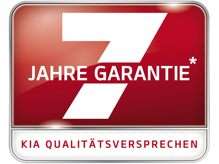 7 Jahre Kia-Garantie