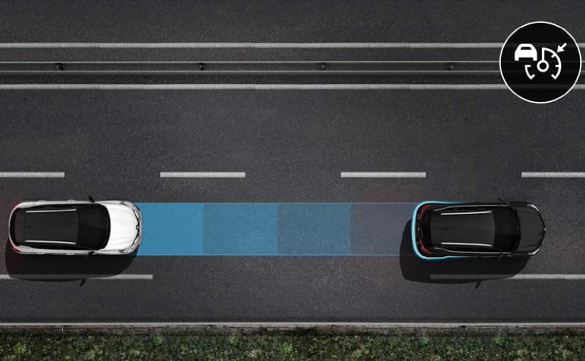 Adaptiver Geschwindigkeitsregler Stop & Go
