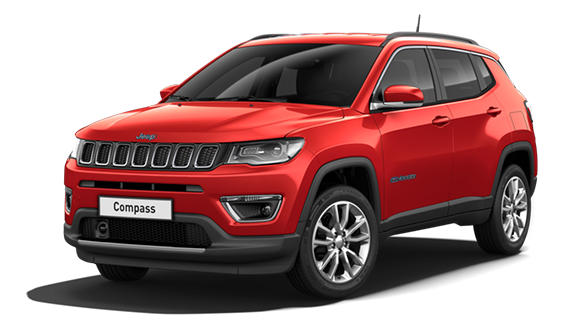 Compass 4xe Plug-In Hybrid COLORADO RED