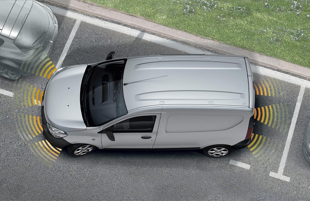 Dacia-Dokker-Express-einparkhilfe-mit-rückfahrkamera